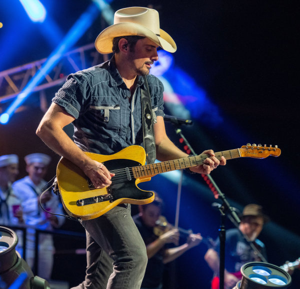 None - Win a pair of tickets to see Brad Paisley, Chris Lane and Riley Green at The AMP!
