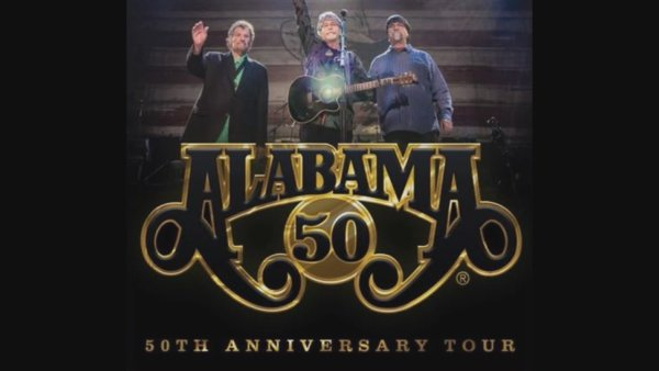 None - Win tickets to see Alabama's 50th Anniversary Tour at the Walmart AMP!