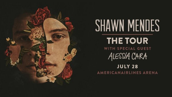 None -   Shawn Mendes With Special Guest Alessia Cara
