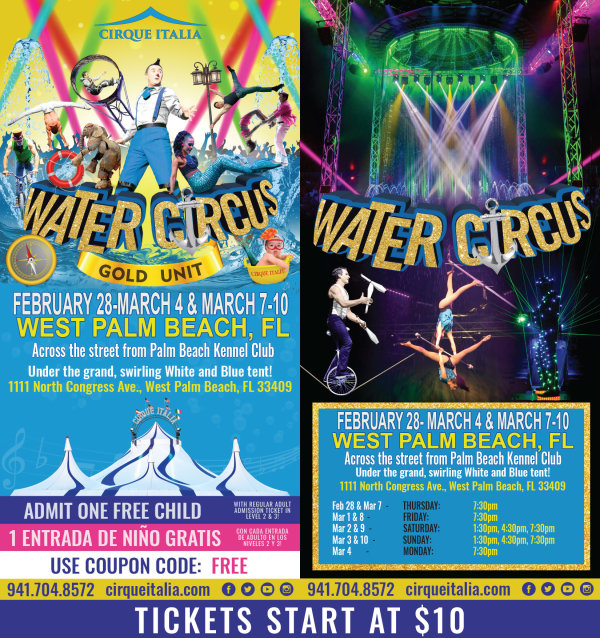None - Cirque Italia Water Circus!