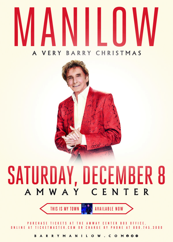 None - Barry Manilow 'A Very Barry Christmas' Live in Concert!