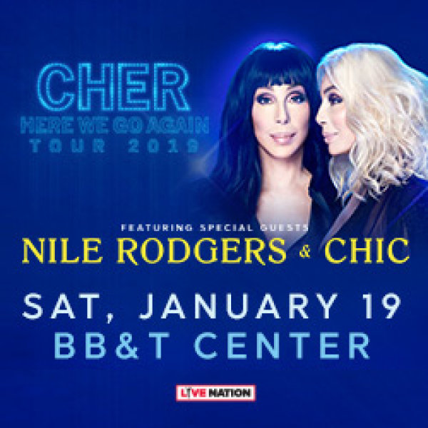 None - Cher Here We Go Again tour 2019