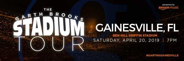 None - See Garth Brooks Live!