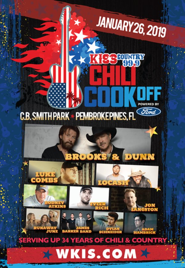 None - South Florida Chili Cook Off!