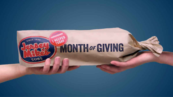 None - Win A $50 Jersey Mike's Gift Card During The Month Of Giving!