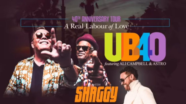 None - UB40 40th Anniversary Tour