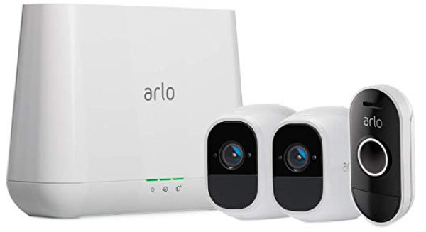 None -   Arlo Pro 2 Security Camera System + Doorbell Kit