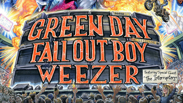 None - Green Day, Fall Out Boy, Weezer: THE HELLA MEGA TOUR