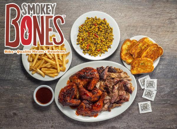 None - $50 Smokey Bones Gift Card