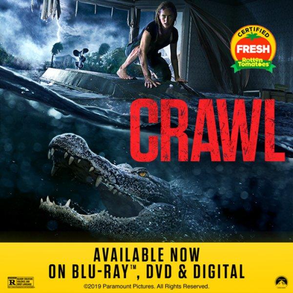 None - CRAWL Blu-ray Combo Pack