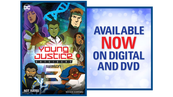 None - Young Justice: Outsiders Season 3