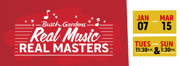 None - Busch Gardens Presents: Real Music Real Masters 2020!