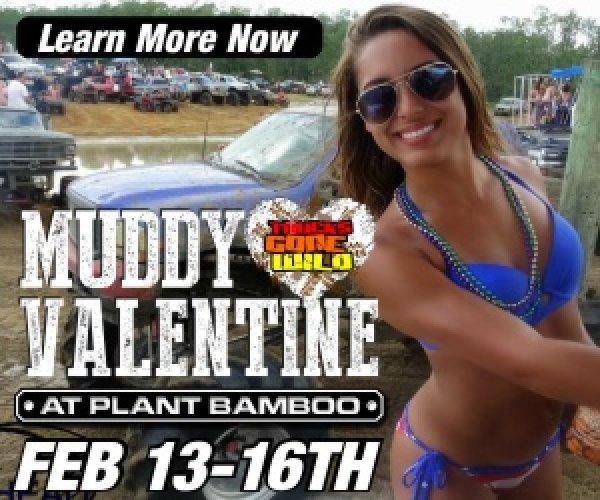 None - Win Tickets to Trucks Gone Wild Muddy Valentine!