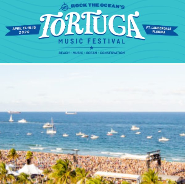 image for TORTUGA MUSIC FESTIVAL- SINGLE DAY PASSES!