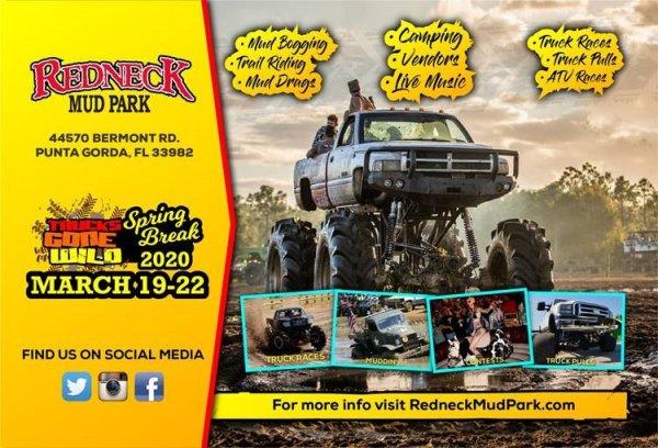 image for Redneck Mud Park Trucks Gone Wild SPRING BREAK 2020!