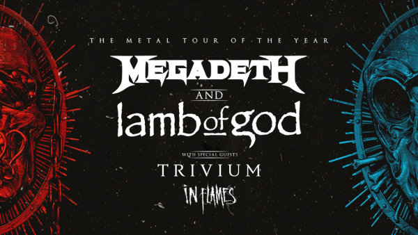 image for Megadeth AND Lamb Of God