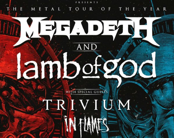 image for  Megadeth and Lamb Of God Giveaway!