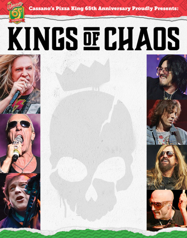 None - Cassano's Pizza King and WTUE presents KINGS OF CHAOS:  CLASH OF THE BANDS