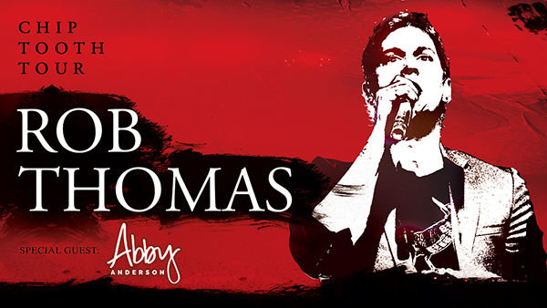 None -  Rob Thomas | Tuscaloosa Amphitheater