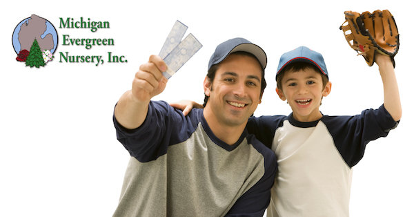 None - WIN Tigers Tickets & Gift Card for Michigan Evergreen Nursery