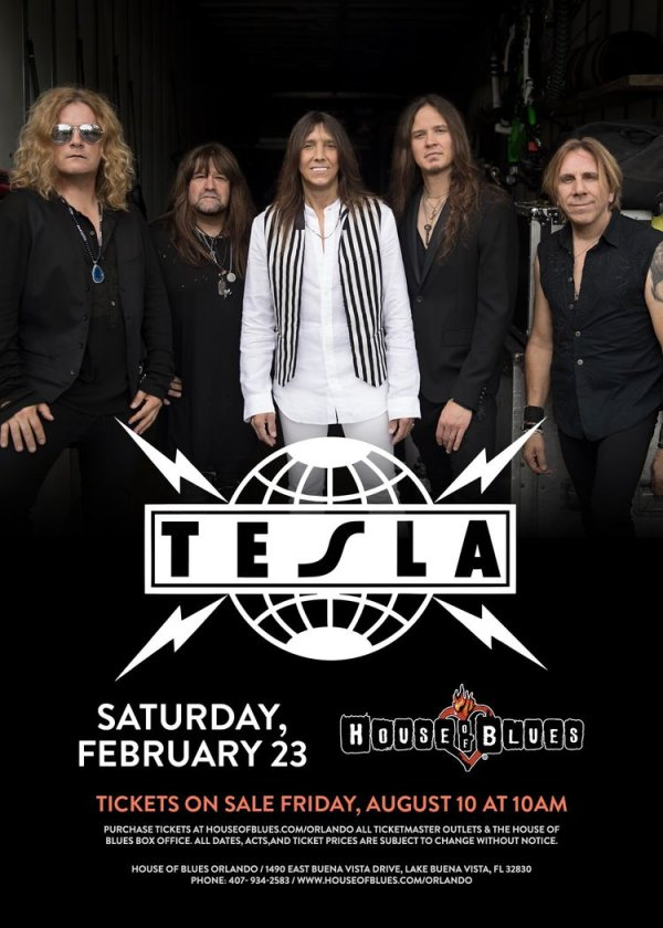 None - Tesla at House of Blues