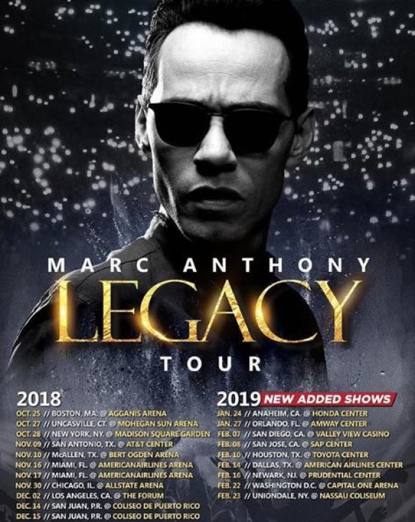 None - Marc Anthony - Legacy Tour