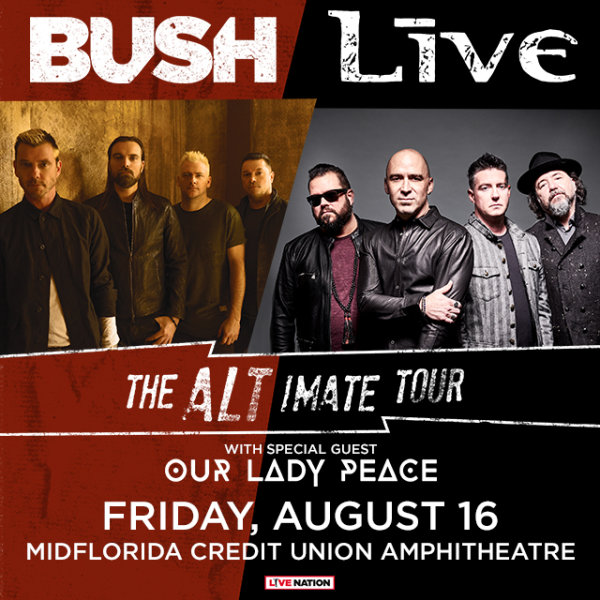 None - 2 Tickets to Bush/Live