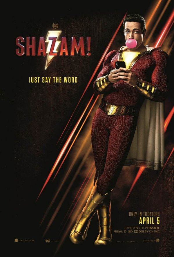 None - SHAZAM! Advanced Screening