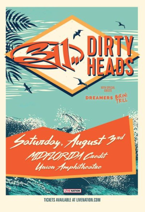 None - Enter for Your Chance to Win 2 Tickets to 311 and Dirty Heads