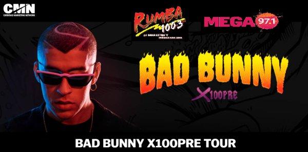 None - Preventa de Entradas para Bad Bunny en Tampa: x100Pre Tour 2019