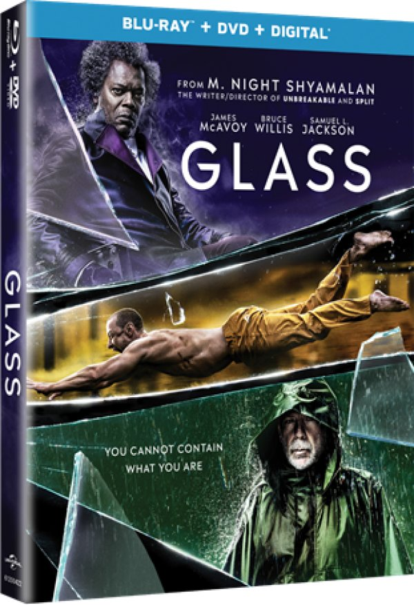 None - GLASS Blu-Ray Giveaway