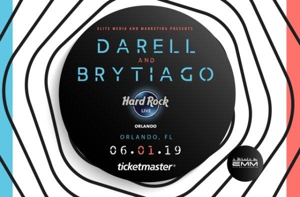 None - Gana Dos Boletos para ver a Darell y Brytiago!