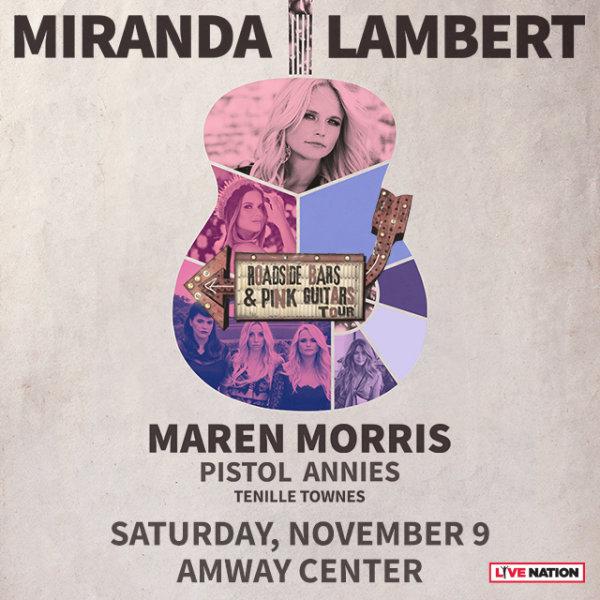 None - Win Tickets to See Miranda Lambert!