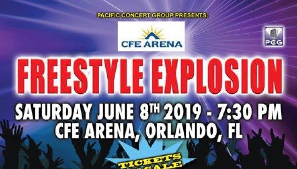 None - Gana entradas para el Freestyle Explosion en el GFE arena el 28 de Junio.