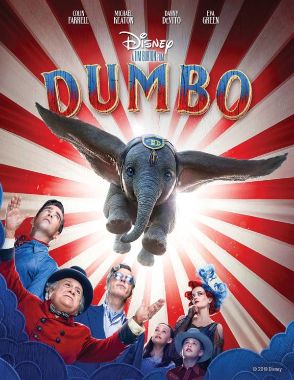"None - Enter for your chance to win a Digital copy of Disney's ""Dumbo"""