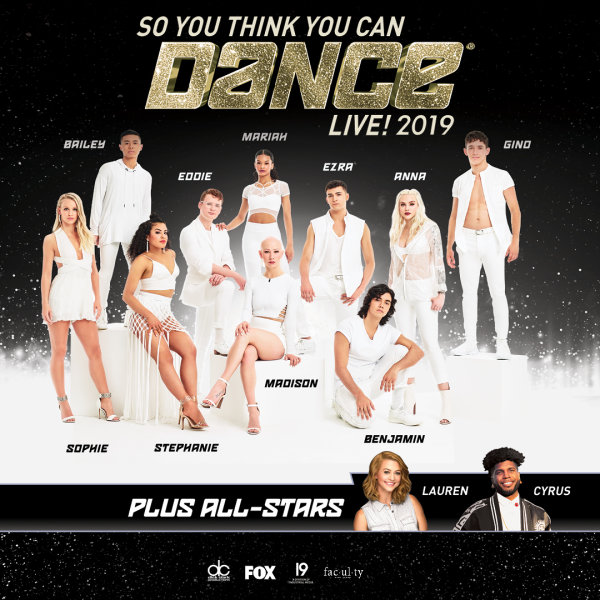 None - Enter for a chance to win a pair of tickets to see So You Think You Can Dance Live!
