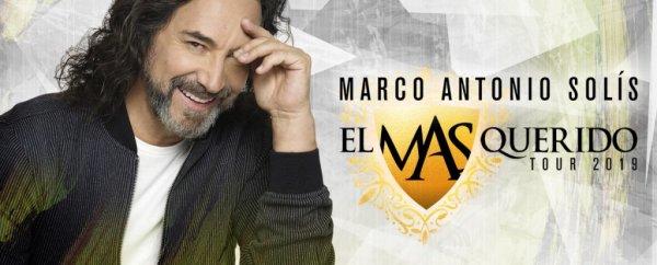 None - Gana entradas para el concierto de Marco Antonio Solis el 1ero. de Septiembre en el Amway Center!