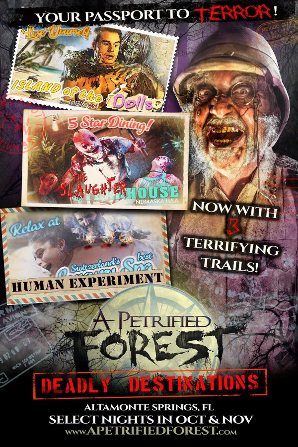 None - Enter for a chance to win a pair of tickets to A Petrified Forest 2019!