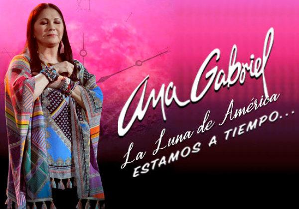 """None - Participa aquí para ganar 2 boletos para Ana Gabriel en concierto en Ft Myers """"Estamos a Tiempo Tour 2020"""""""
