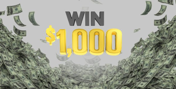 None - $1,000 Cash Contest