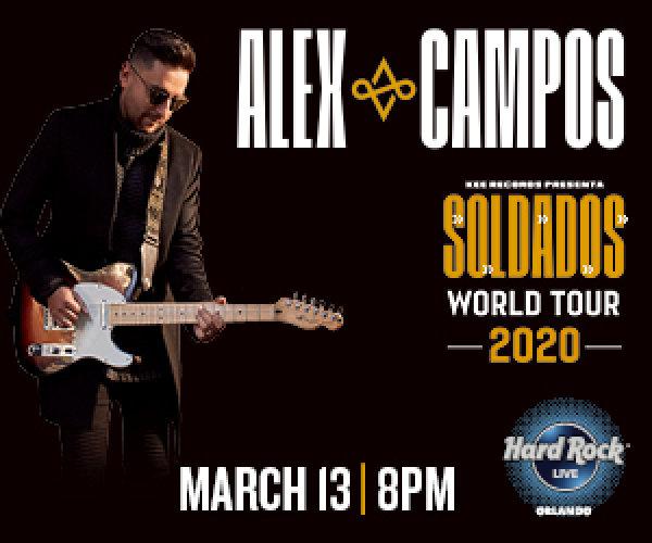 None - Participa y Gana Boletos Pa' Alex Campo Concert