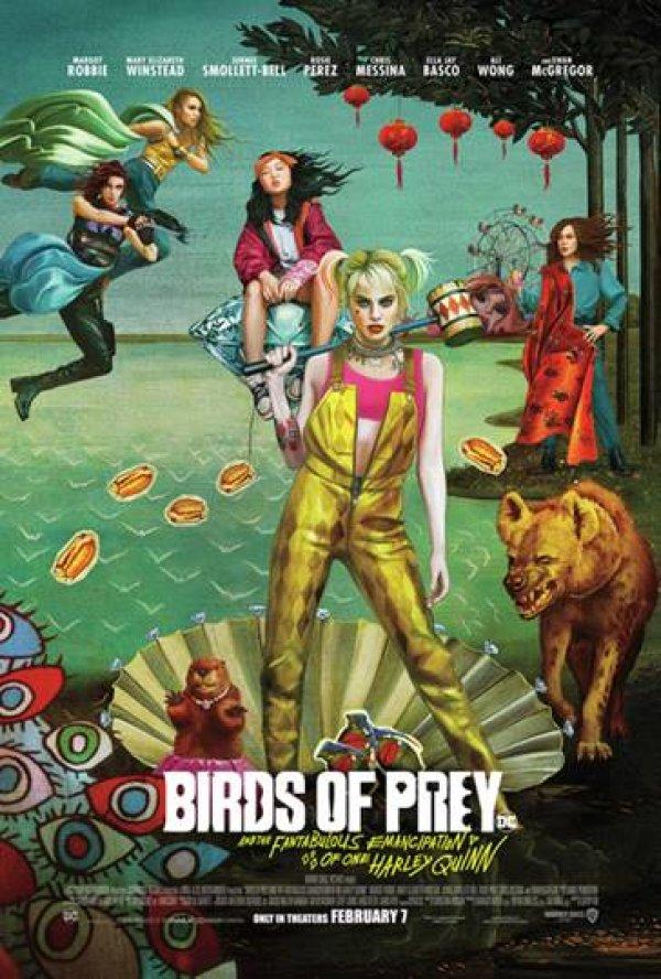 None - Birds Of Prey Advanced Screening!