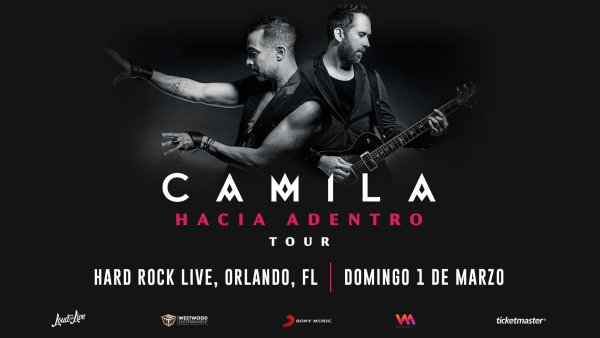image for Gana Boletos Para Camila Hasta Adentro Tour 3.1