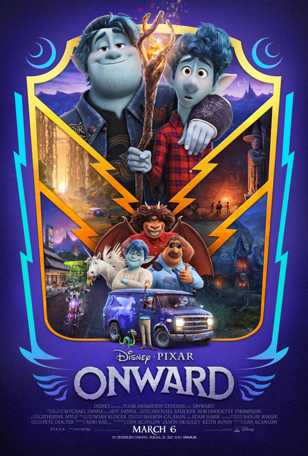 image for Enter for a chance to win a pass for two to the advance screening of Disney and Pixar's ONWARD!