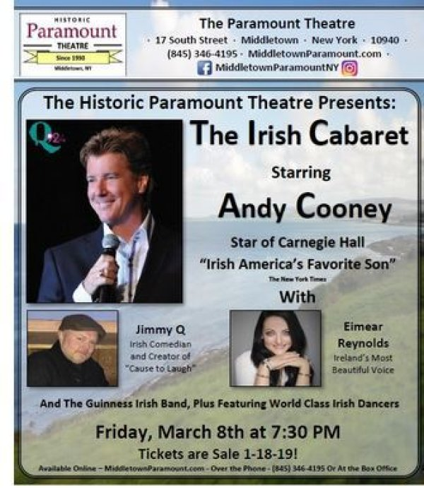 None - Win a Pair of 2nd Row Seats to see the Irish Cabaret