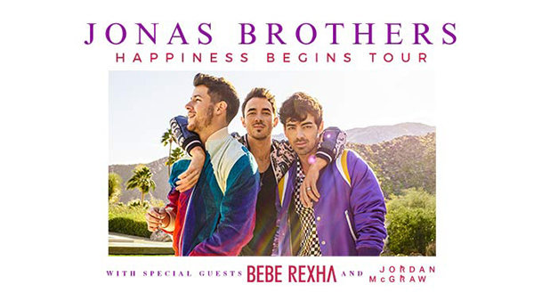 None - WIN a Trip for 2 to the Jonas Brothers & Bebe Rexa Concert at the Tacoma Dome