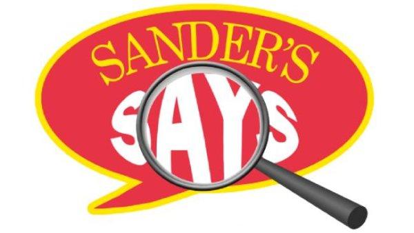 None - Sander's Says