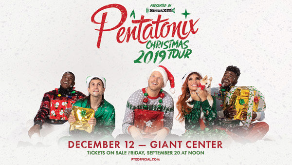 None - PENTATONIX COMING TO THE GIANT CENTER!