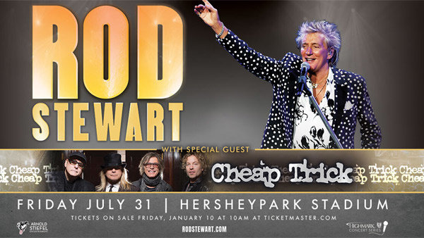 None - Rod Stewart with Special Guest Cheap Trick!