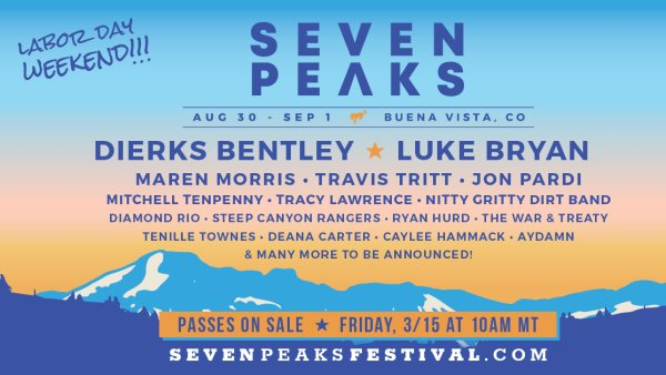 None - Listen For Your Chance To Win Tickets To Seven Peaks Music Festival